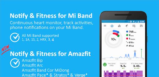 Notify & Fitness for Mi Band apk