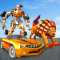 Ultimate Wild Lion Robot: Car Robot Transform Game Icon