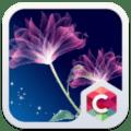 Neon Flower Theme C Launcher Icon