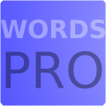Words Pro Icon