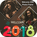 Welcome 2020 Photo Frame Icon