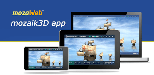 mozaik3D app - 3D Animations, Quizzes and Games apk