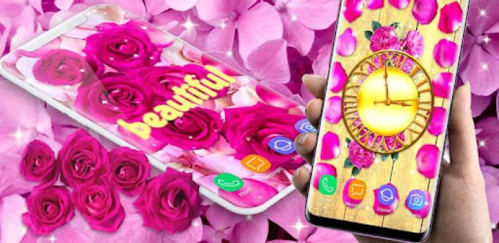Flower Petals Live Wallpaper 🌹 Parallax Wallpaper apk