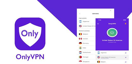 Only VPN - Free VPN Super unlimited proxy Hotspot apk