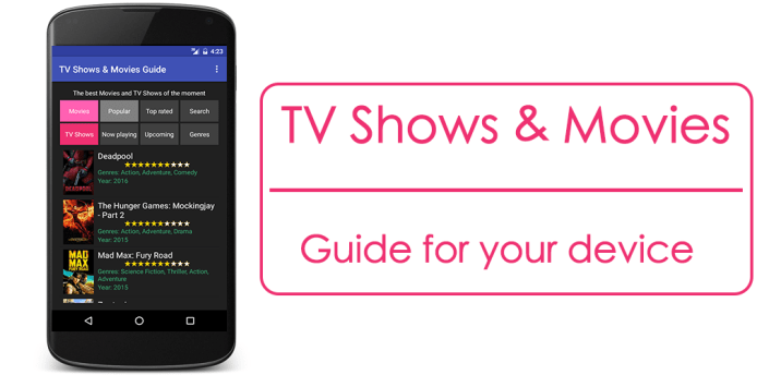 TV Shows And Movies Guide for Android apk