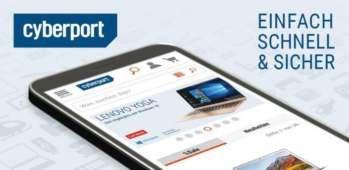 CYBERPORT Elektronik, Technik & Deals Shopping App apk