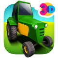 Tractor Farm Parking Icon