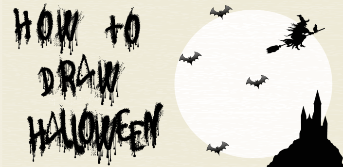 Halloween - How to draw☠️ apk