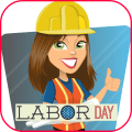 Labor Day Greeting Cards Icon