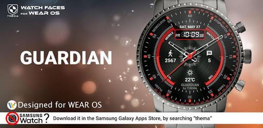 Guardian Watch Face & Clock Widget apk