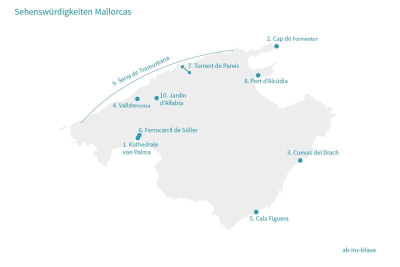 top 10 sehenswurdigkeiten auf mallorca