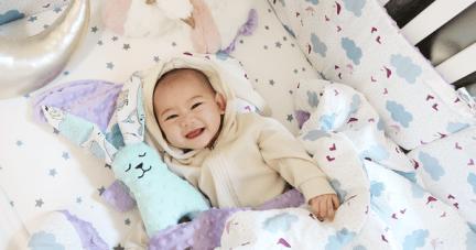 團購【催眠寶寶的魔法被毯|歐洲La Millou豆豆毯.兔.枕.床圍】
