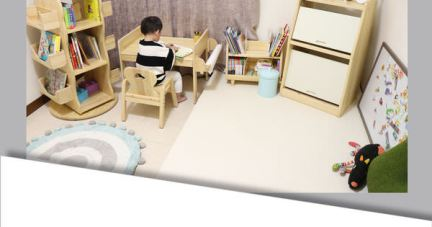 【培養獨立寶寶!超質感MesaSilla幼兒自主學習實木家具】