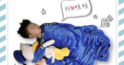 【美國Zoobies迪士尼3 in 1玩偶毯&兒童睡袋   暖暖入眠】