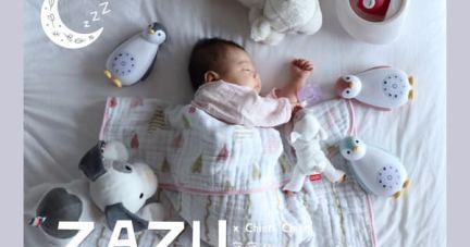 團購【寶寶睡過夜好朋友 | 荷蘭ZAZU音樂安撫玩偶.強鵝.夜燈】