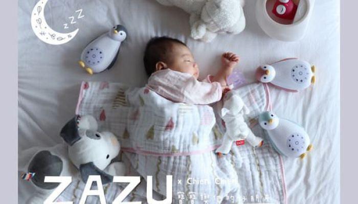 【寶寶睡過夜好朋友 | 荷蘭ZAZU音樂安撫玩偶.強鵝.夜燈】