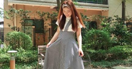 1904A063 韓國彈性羅紋立體蝴蝶結髮帶