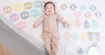 嫩嬰安心用!【韓國MAMA's TEM美型固齒器|韓國Kangaruru防跌落安全床圍】