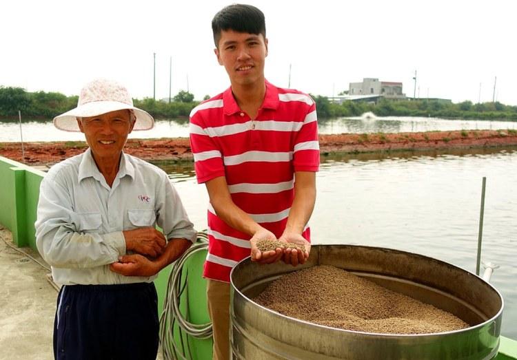 [台南學甲區] 無毒白蝦 – 用天然的環境與飼料養出最令人安心的無毒白蝦