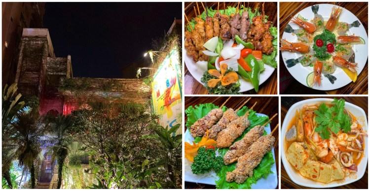 [台南美食] Malibu泰式料理餐廳 – 都市裡的叢林!台南最神秘的泰式餐廳