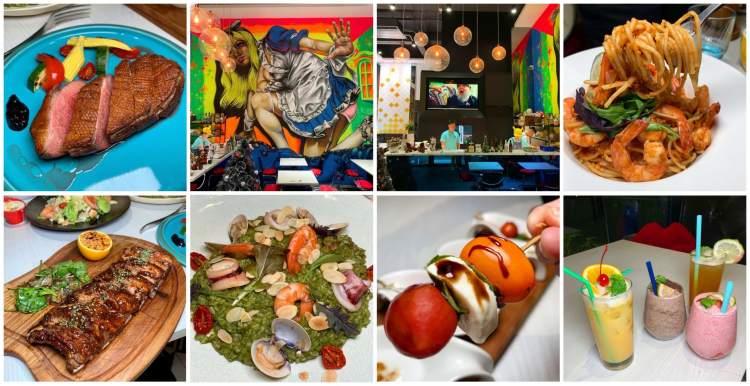 [台南美食] Rio Loco Bistro 瘋狂小河餐酒館 – 螢光塗鴉加上特別料理給你全新體驗!