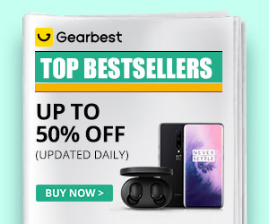 Gearbest TOP Seller: SUPER COUPON+ Prodotti popolari promotion