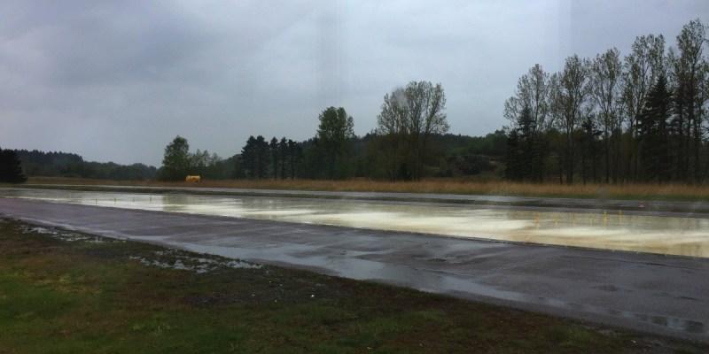 [2019考瑞典駕照-3] 風險課第二堂,體驗路滑失控感