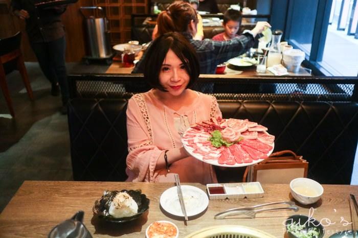 【桃園燒烤】藝文特區美食~燒肉同話,東西不錯,但上菜順序需要加強。