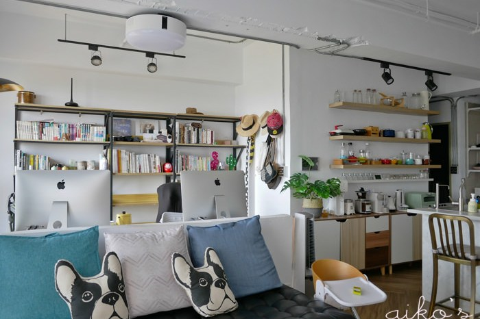 【裝飾佈置】書櫃更換、中島層板區大整頓!