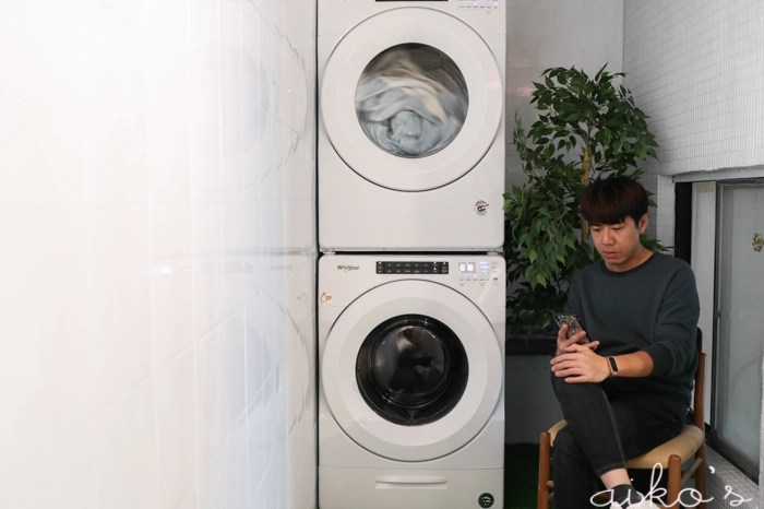【美型家電】惠而浦 Whirlpool 洗烘雙機~天天都像太陽曬過的暖烘烘衣物,主婦們的夢幻逸品!