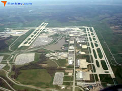 Aerial photo of KMCI (Kansas City International Airport)