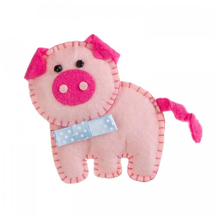 創造性のボンダボンクリスマスツリーのおもちゃからの玩具が自分で豚をやる