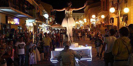 Festival degli artisti di strada Santa Teresa di Gallura 2015