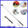 Flexible Steel Autodyne Self-shot Telescopic Hand held monopod FOR camera free shipping