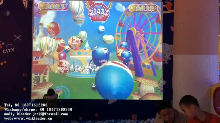 Ar Ball Hitting 3d Interactive Wall Projection Smash Ball Games     AR ball hitting 3D interactive wall projection smash ball games interactive  ball pool projection games