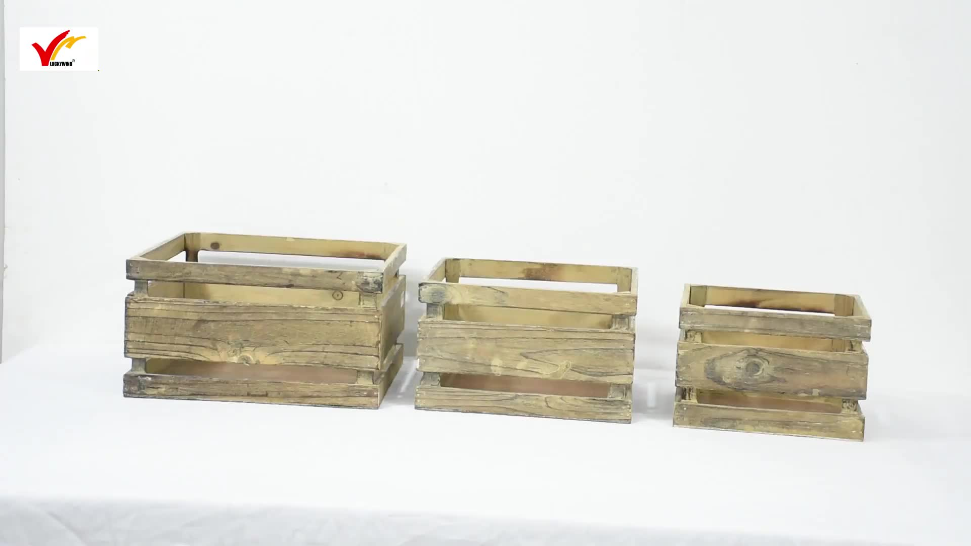 Wholesale Cheap Vintage Handmade Rustic Wooden Fruit