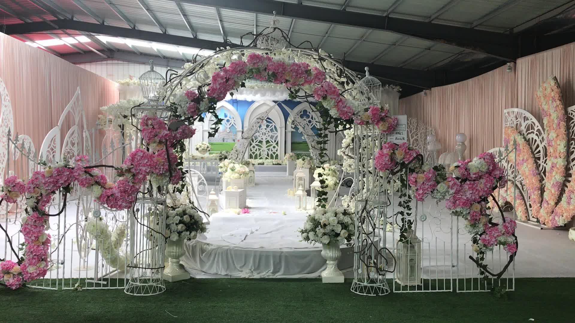 Moroccan Wedding Backdrop Frame Decoration Pedestal Arch
