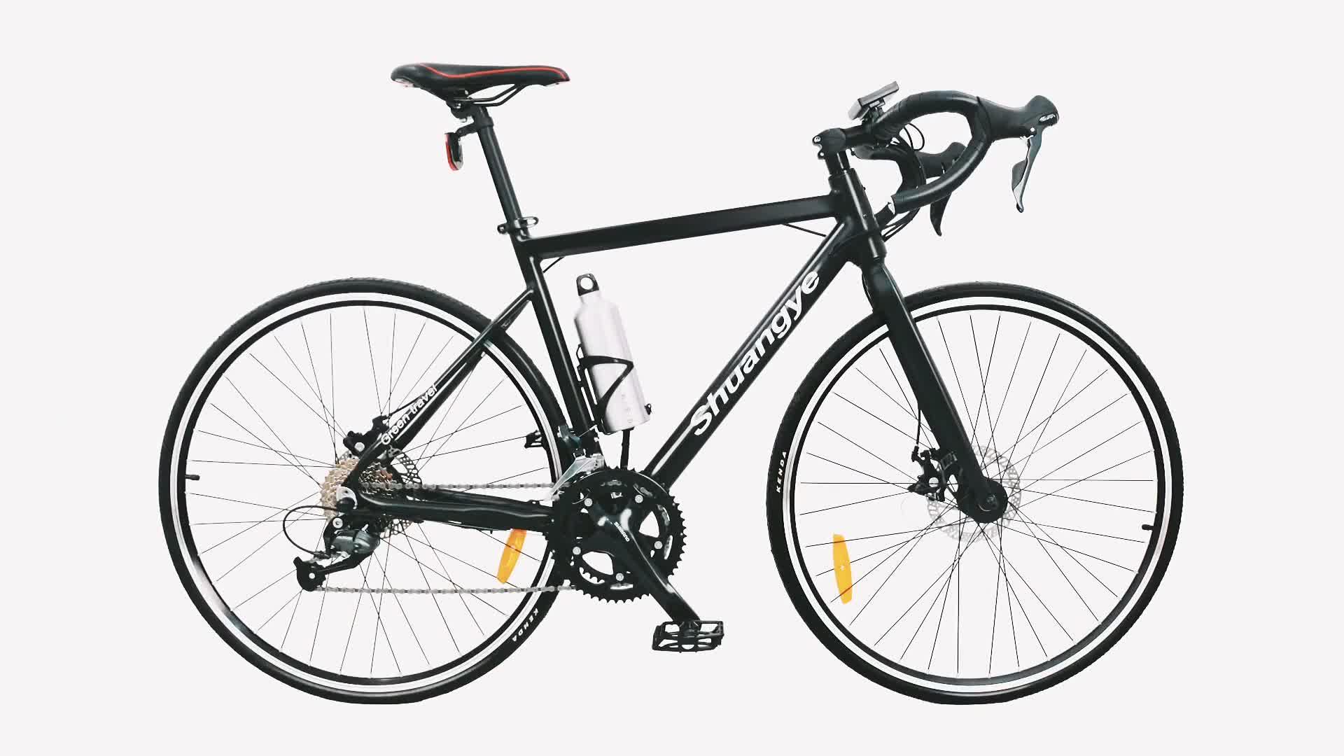 Lightweight 700 25c Wheels 18 Speed E Road Electric Bike