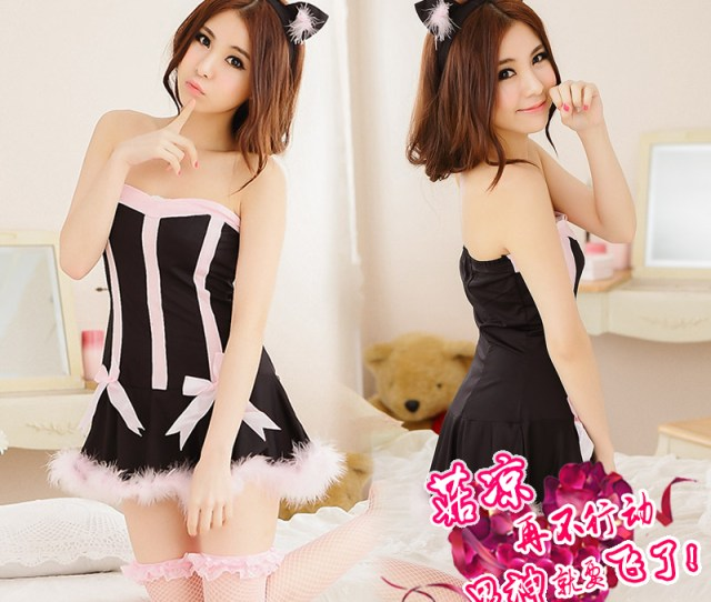 Buy Mystery Kyi Cos Sexy Cat Girl Bunny Suit Uniforms Contains Adult Adult Sexy Lingerie Female Sao Sm Role Play Play In Cheap Price On M Alibaba Com