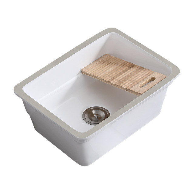 under counter laundry tub with
