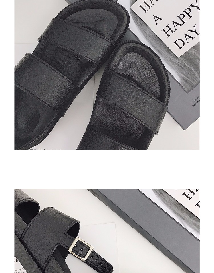 Mazefeng 2018 New Fshion Summer Women Shoes Rome Style Women Casual Sandals Solid Black Buckle Ladies Sandals Vintage Flats
