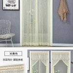Door Curtain Anti Mosquito In Summer Worm Bedroom And Household Lace Double Layer Mesh Curtains Fabric Partition Curtain Sunscreen Curtains Decoration Punch Free Lazada Ph