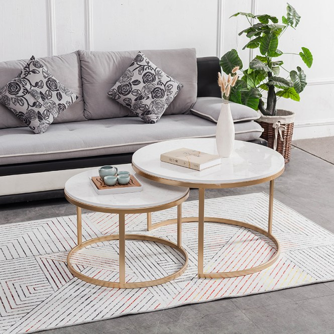Usd 106 98 Nordic Minimalist Style Coffee Table Golden
