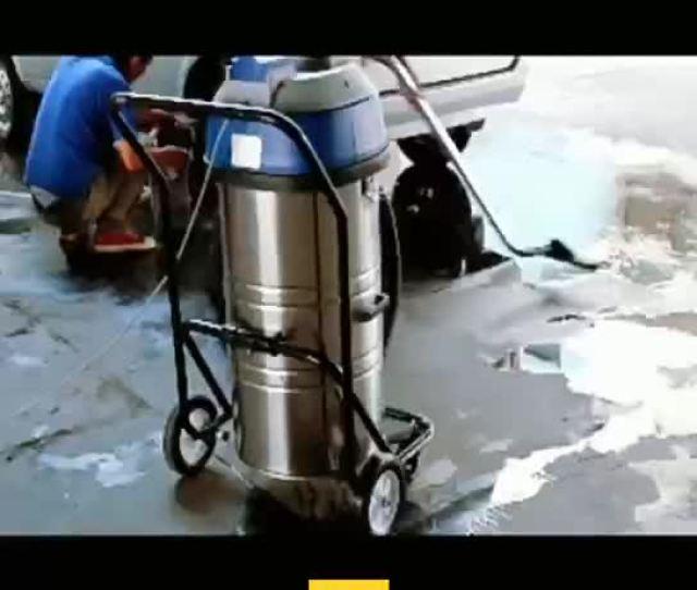 Vacuum Water Sucking Machine For Cleaning Factory Ground
