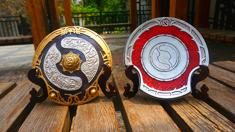 DOTA2 Championships TI6 Aegis Of Champions Oversized Game Prop Model Handcraft EBay