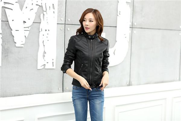 T2HPkDXvhXXXXXXXXX %21%21742603855 2018 Fashion New Women's Jacket European Fashion Leather Jacket Pimkie Cleaning Single PU Leather Motorcycle Temale Women's Leat