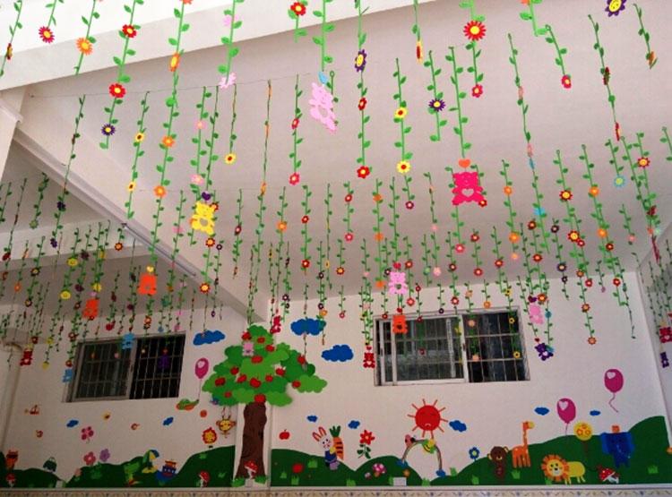 Kindergarten Classroom Aerial Pendant Ornaments Class