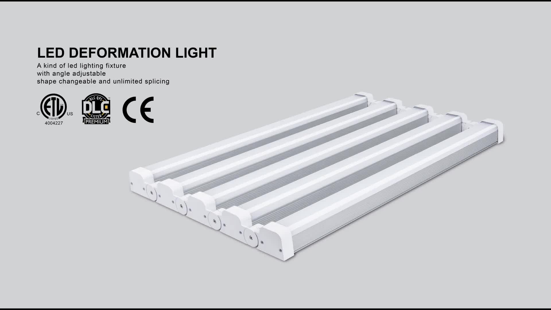 Warehouse Linkable 2ft 4ft 75w 90w 150w 210w Led Low High