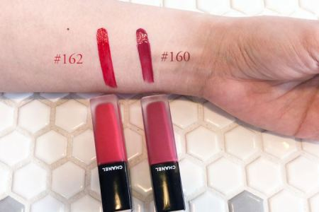 Image result for chanel rouge allure ink 160 162