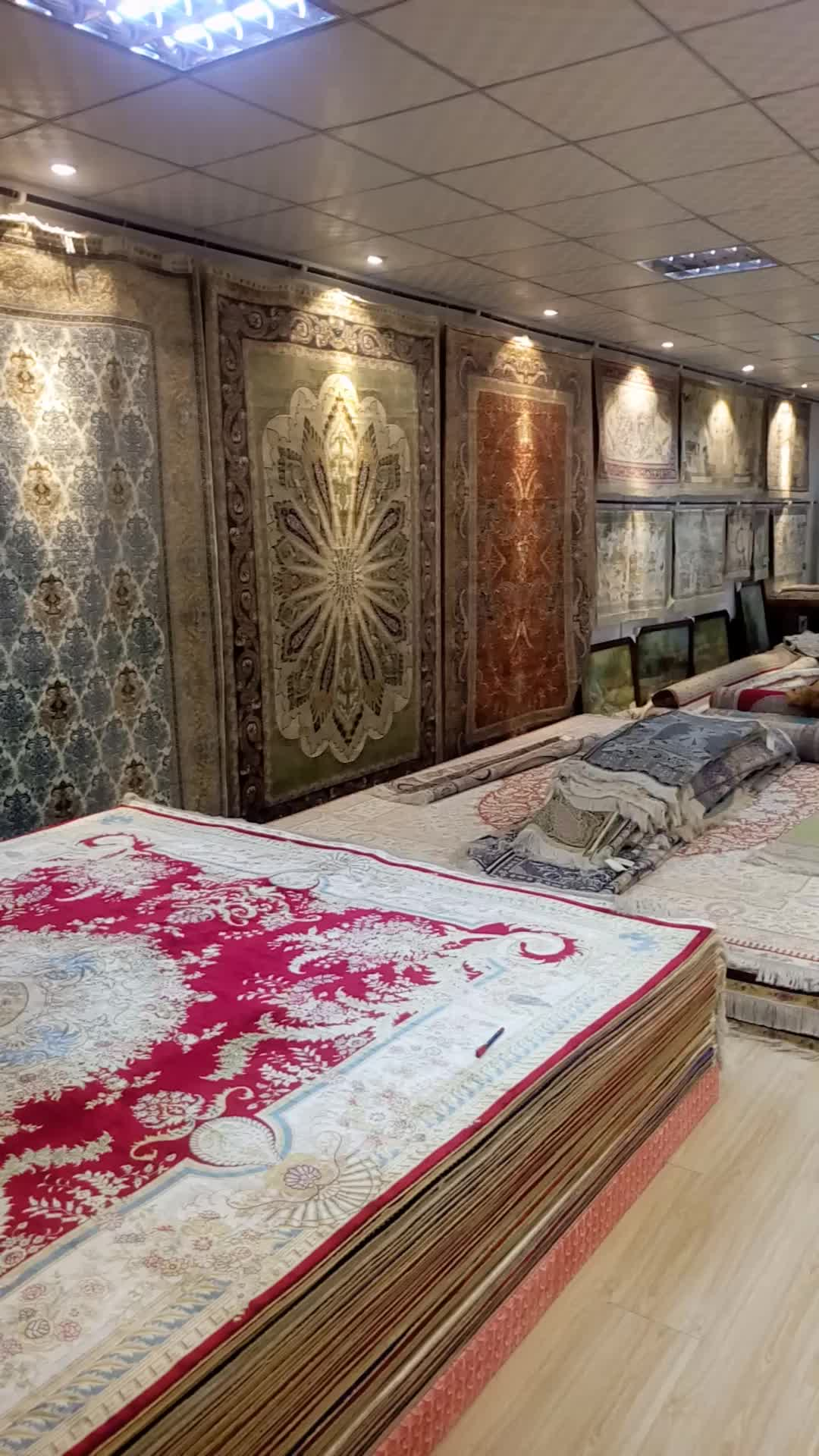 Yuxiang Tapis 5x7ft Oriental Egyptien De Luxe Salon Tapis